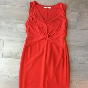 Bailey 44 Nordstrom Red Bodycon Sleeveless Dress